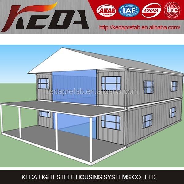 DIY shiping container welded light steel containers houses