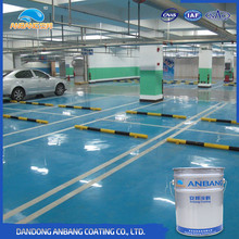AB-DP-300M epoxy floor paint wear resistance concrete coatings for garage