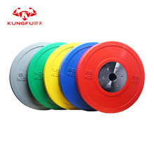 Weightlifting Plate Competition Rubber Bumper Plate
