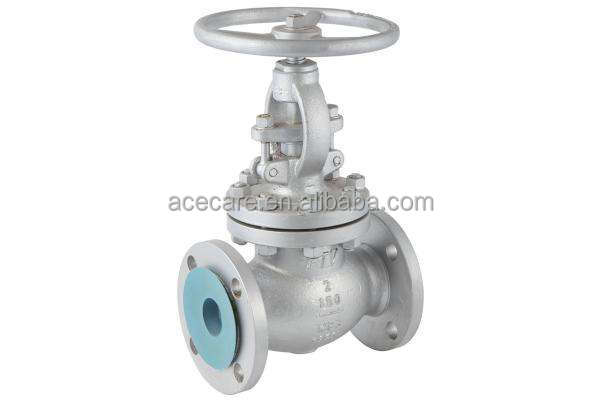 Competitive price WCB ANSI cast iron rising steam globe valve with flange