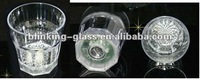 LED flashing whisky glass - 12oz