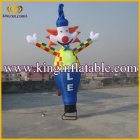 Inflatable air dancer clown , cheap inflatable sky dancer, customized ad dancers