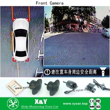360 view car camera system degree reversing 1080p hd dvr With Long-term Service XY-360