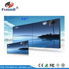 LED Video Wall/ LED Stage Background Display Screen 46 inch 3.5mm bezel lcd video wall