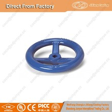 Professional Factory ductile iron cast valve parts hand wheel for valve