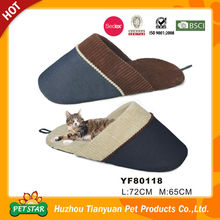 slipper pet bed