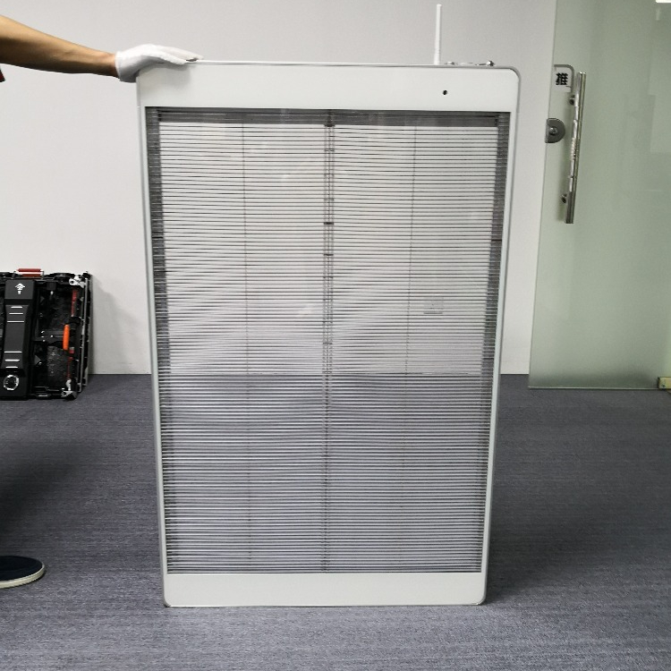 Programmable Glass Curtain Wifi Poster Mess Transparent Led Display <strong>Screen</strong>
