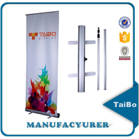 Strong Telescopic Brace Pole Retractable Banner Stand Manufacturer