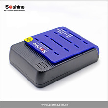 Soshine 18650/18500 /RCR123 Li-ion Universal Automatic Battery Charger