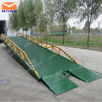 large warehouse ramp adjustment height truck loading ramp