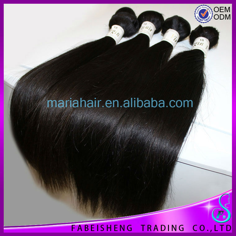 Shining Hair factory sale Cambodian hair good thick hair weft