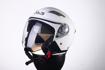 Resonable Price,ECE Homologation Approved,Half face helmet with Double Visor