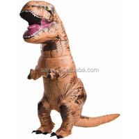 Jurassic World Park Blowup Dinosaur New Inflatable T Rex Costume