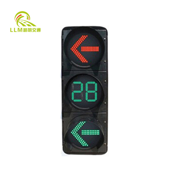 100mm mini red and green traffic signal light 220V for car parking