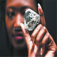 Man Made Rough HPHT Diamond White / Synthetic CVD Gem Stone