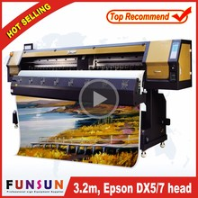 New model Funsunjet FS3202G 3.2m / 10ft stack type flexo printing machine wallpaper print machine