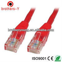 Cat 5e jumper wires with rj 45 plug