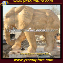 large garden marble elephant animal statue