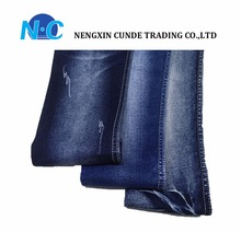 High quality denim fabric 2% spandex woven denim fabric factory wholesale with fashion style
