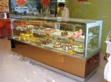 Reasonable price super quality well sale cake display refrigerator