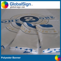 sublimation printing fabric banner polyester banner for promotion