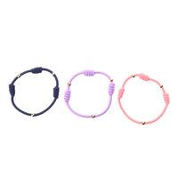 Set of 4 Sliding Ponytail Holders Elastic Hair Tie Bracelet