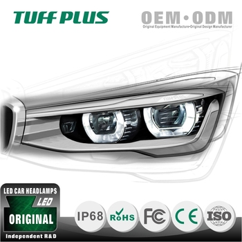 Professional R&D team OEM customer car led headlight manufacturer KA