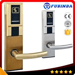 factory wholesale rfid card security electric handle safe digital hotel smart keyless electronic hotel lock