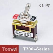 20A 125V ON-OFF CE approval mini toggle switch with screw terminal