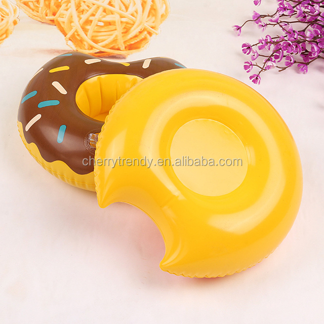 Inflatable Donut Drink Holder