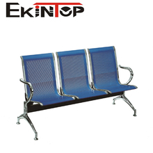 Three-Seater Stainless Steel Airport Chair, Public Waiting Chair High Quality Airport Stainless Steel 3-Seater Waiting Chair