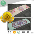 anti-bacterial moistureproof ultra soft non slip natural rubber yoga mat microfiber