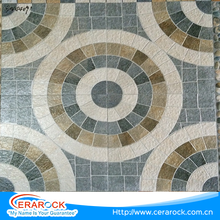 Wholesale price China suppliers round and mosaic style ceramic 400x400 floor tile