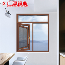European Standard Swing Out Aluminum Window Inner Mesh / aluminium windows and doors for house