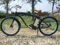 new strong beach cruiser high quality man electric bicycle