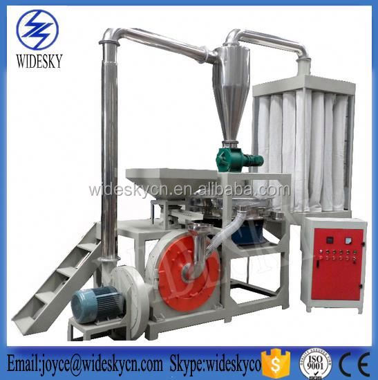 Frozen dried Food and plastic cryogenic pulverizer