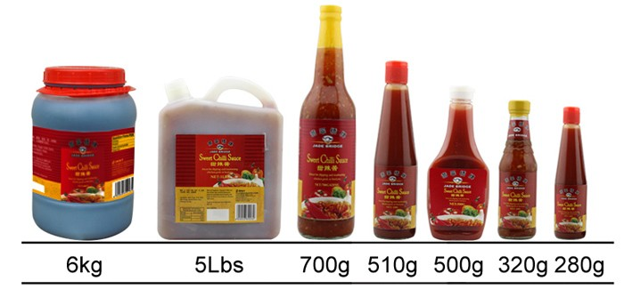 Popular halal sweet chili sauce thai style sauce 700g