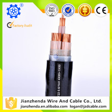 2018 hot sale low voltage cable 16mm2 electrical cable prices high voltage copper amoured color power cable