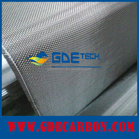 GDE 3K High modulus carbon fiber cloth roll hot sale black carbon fiber carbon fiber fabric properties