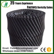 water cooling tower pvc fill material/300mm cooling tower fill pack for cooling water tower