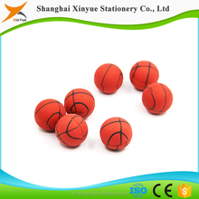 3d basketball shaped stationery set pencil eraser topper