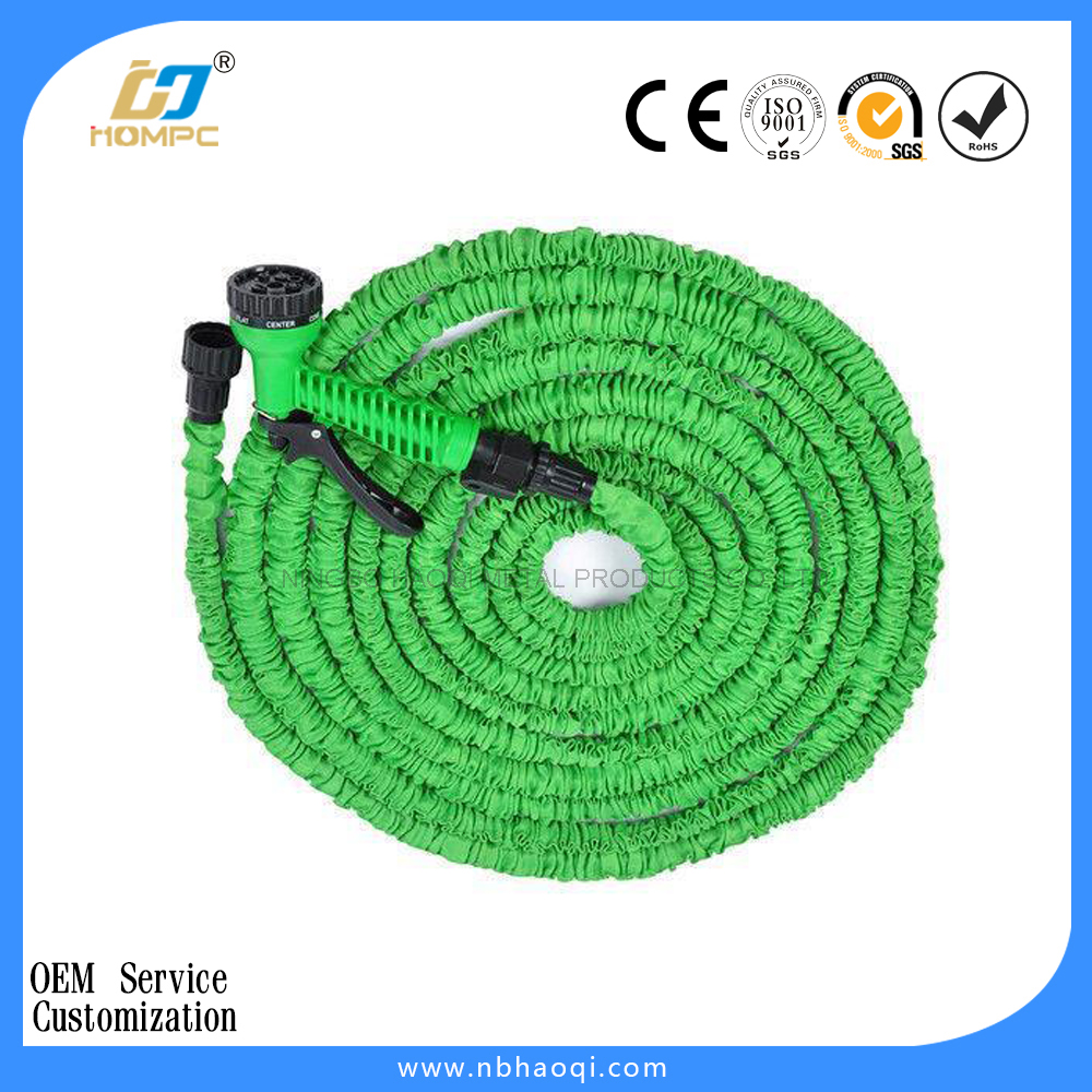 Watering expandable garden pocket hose reel