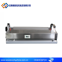 table model 900 paper gluing machine/ roller spreader glue machine for photo paper