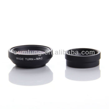 HOT!wide angle +micro lens for galaxy NOTE2,37MM wide angle+micro lens for galaxy NOTE2
