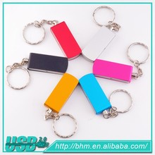 promotional metal swivel usb flash drive