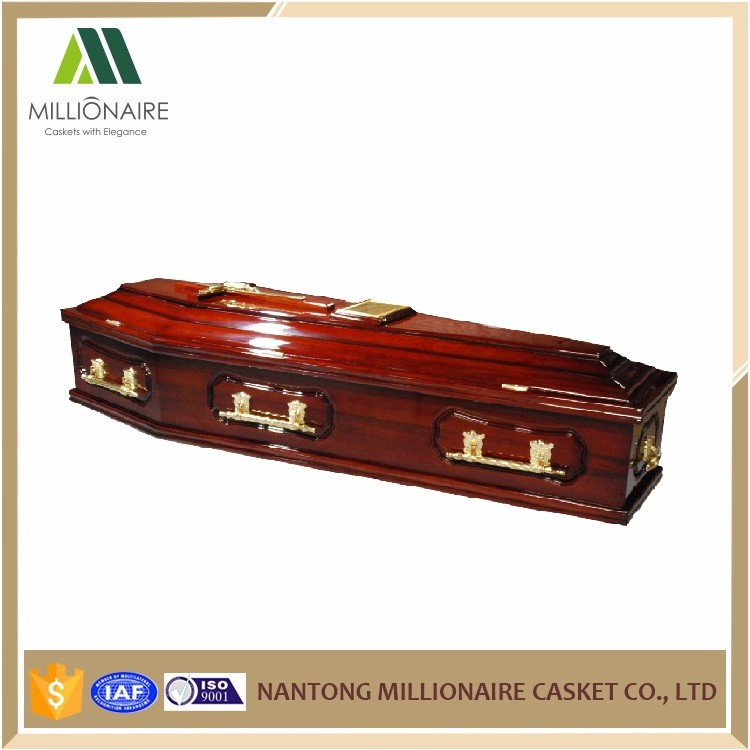 European solid wood ash coffin manufacturer