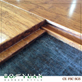click lock boda system high grade distressed strand bamboo flooring