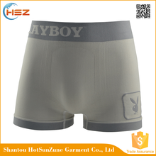 HSZ-SMB0011 High quality mature men polyester spandex underwear boxer seamless panties latest sexy men's penis underwear