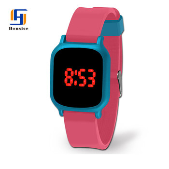 Promotion Fashion Various Colors Wrist Watch Silicon For Grills