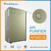 Ionic air purifier ozone ionizer air purifier cleaner with indoor air filter